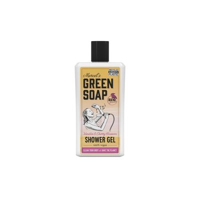 marcel's green soap Douche gel - Vanille & kersenbloesem