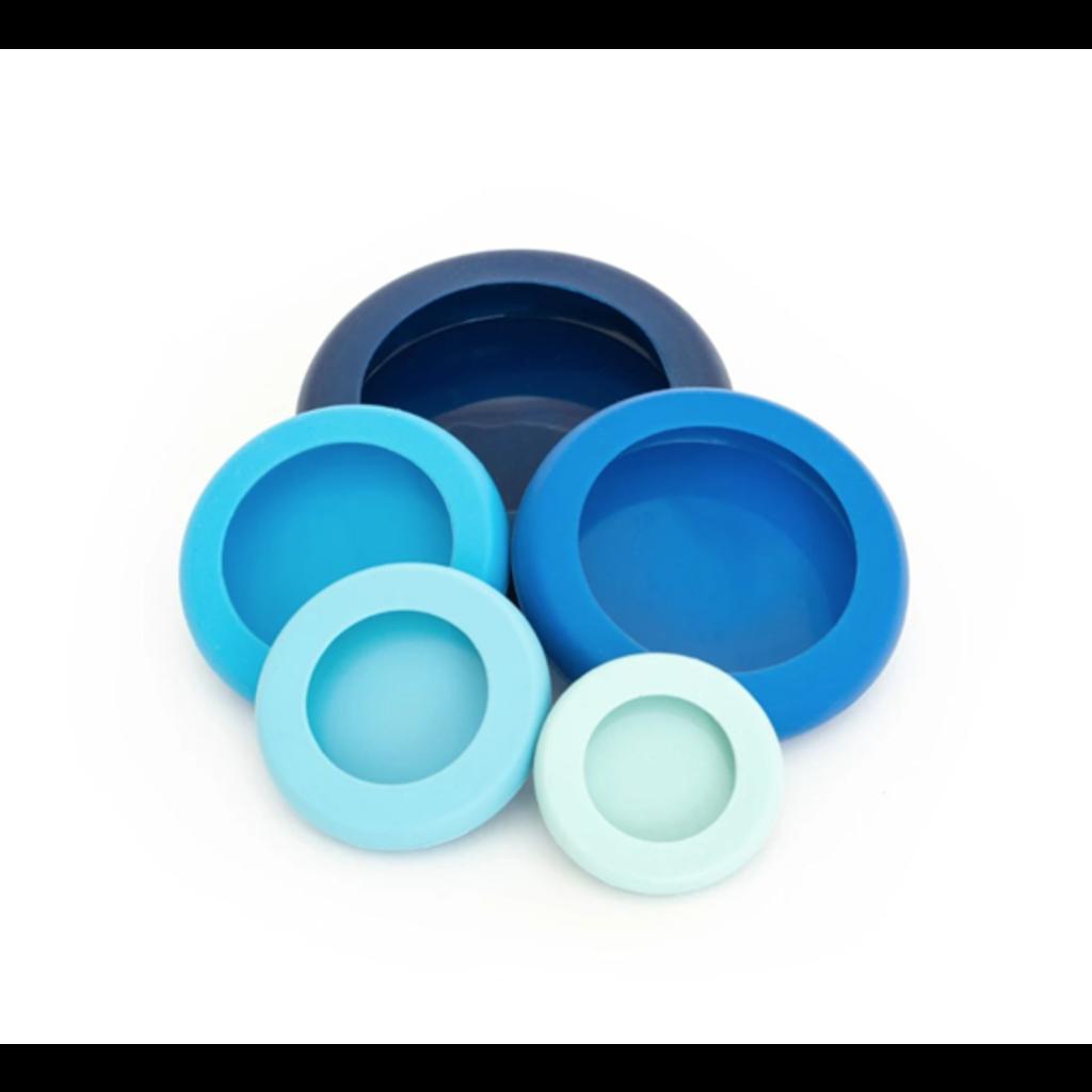 Foodhuggers Foodhuggers - 5 stuks - Ice Blue