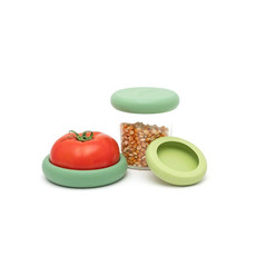 Foodhuggers Foodhuggers - 3 stuks  - Soft Green