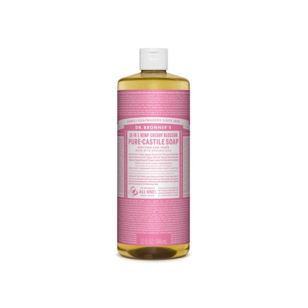 Dr. Bronner Vloeibare zeep - cherry blossom - 945ml