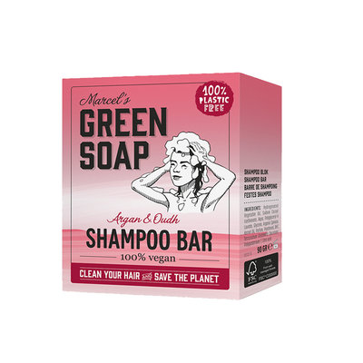 marcel's green soap Shampoo bar