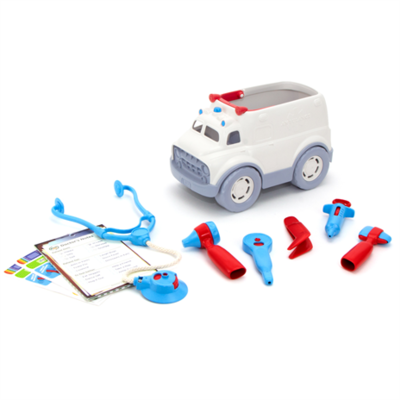 green toys Ambulance en dokter set