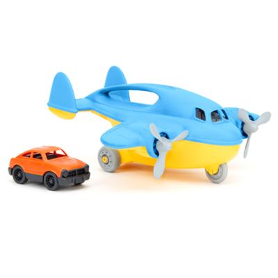 green toys Blauw cargovliegtuig