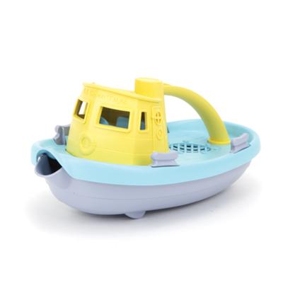 green toys Blauw met gele sleepboot