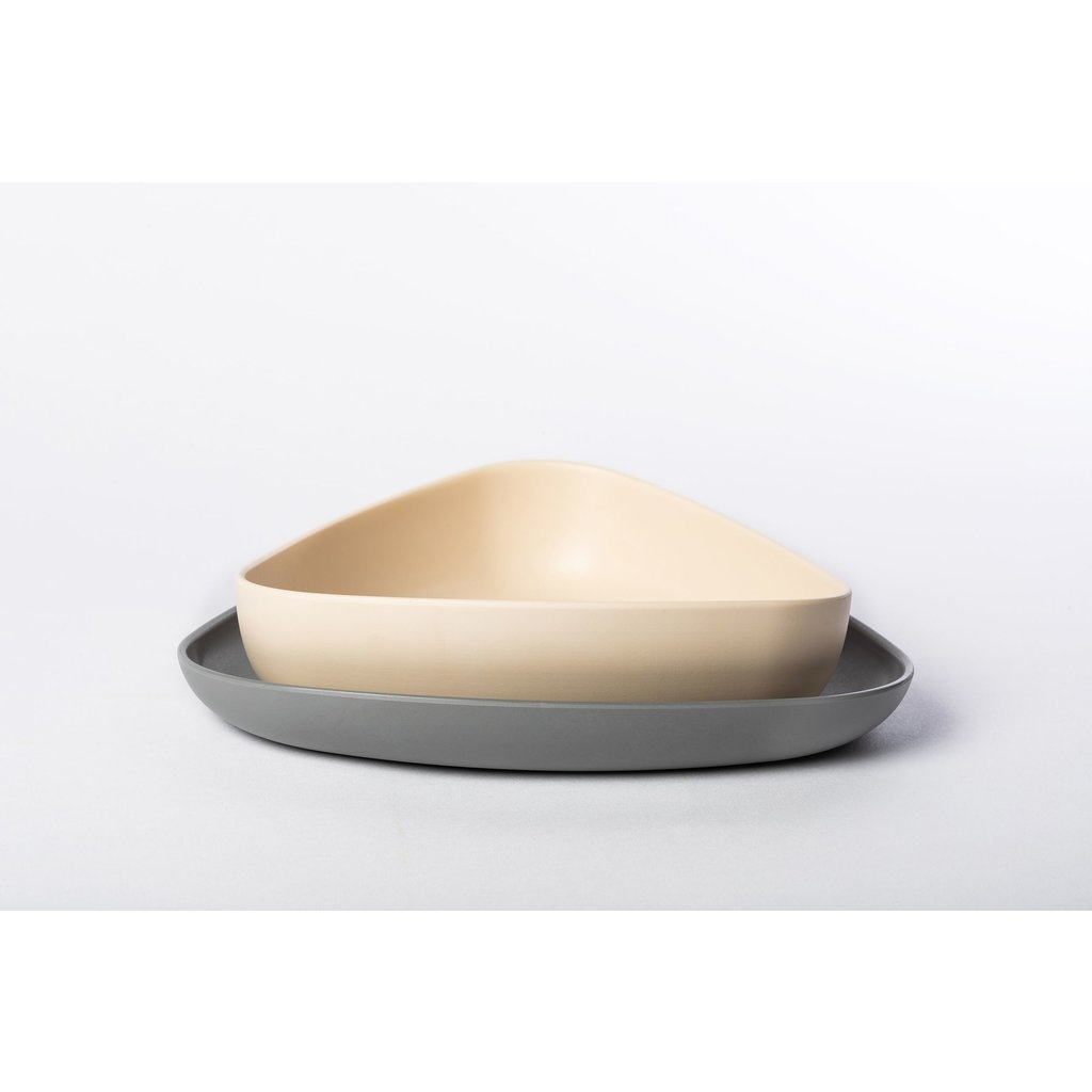 ekoala 2 borden - grijs/wit