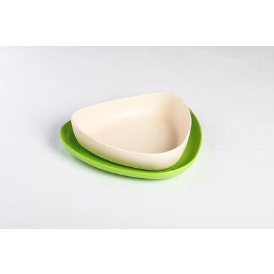 ekoala 2 borden - groen/wit
