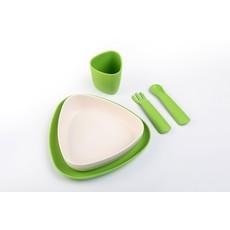 ekoala Eetset groen-wit