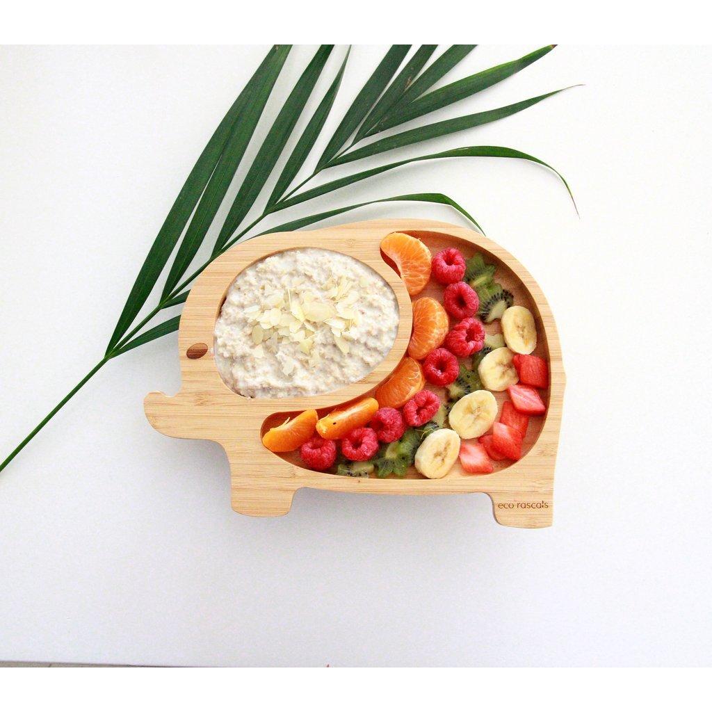 eco rascals Bamboe bord - Olifant