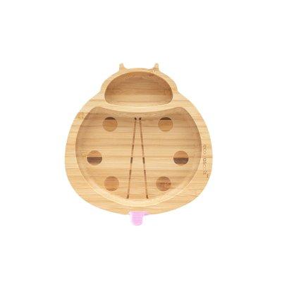 eco rascals Bamboe bord - Lieveheersbeestje