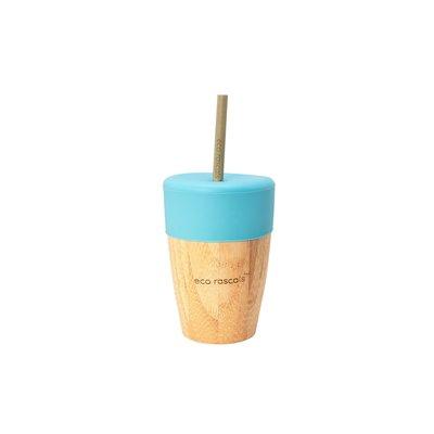 eco rascals Bamboe drinkbeker met rietjes
