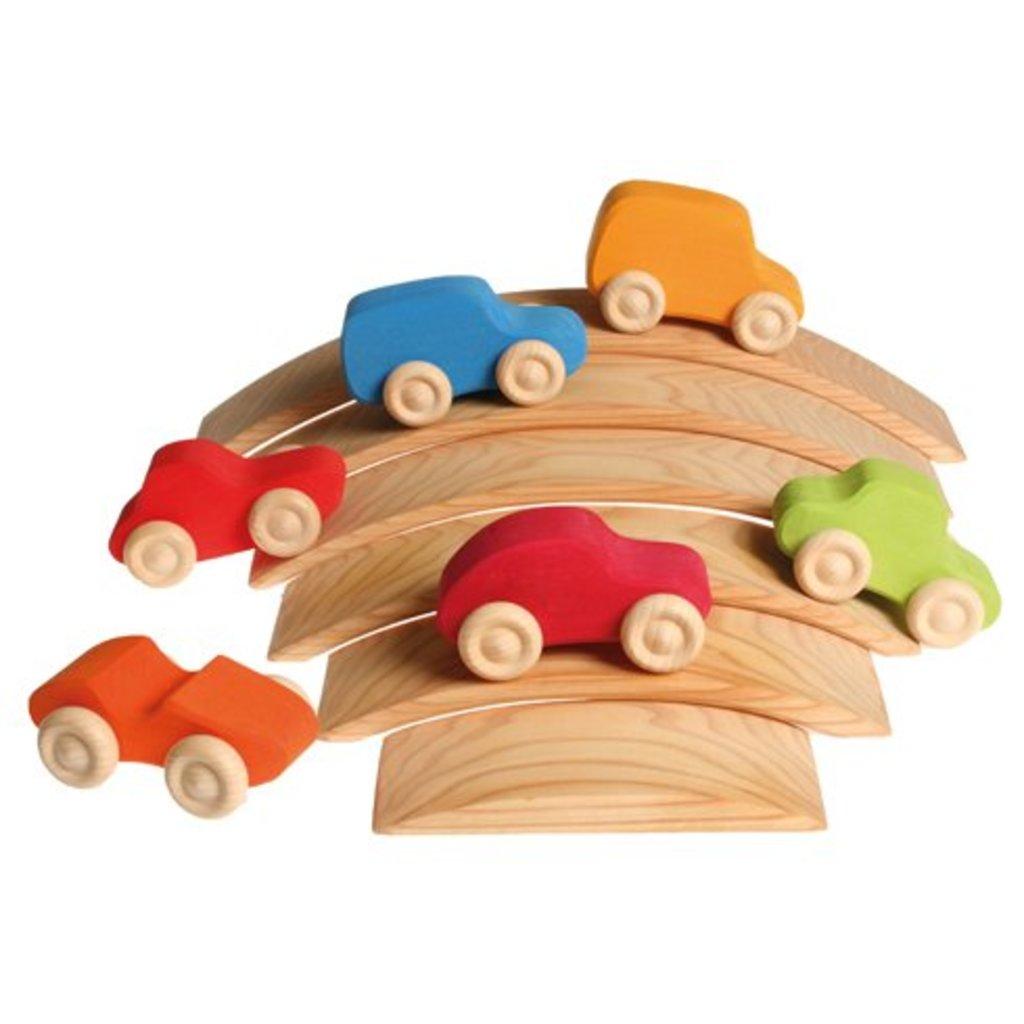 Grimm's Set van 6 auto's
