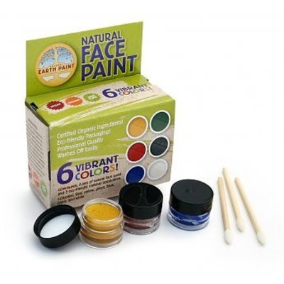 natural earth paint Natural Face Paint Kit 6 kleuren