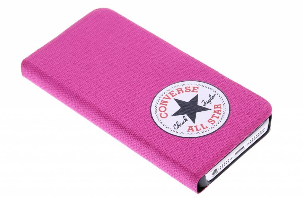 Booklet Case iPhone 5 / 5s / SE - Fuchsia
