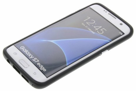 Accezz Xtreme Hardcase Backcover voor Samsung Galaxy S7 Edge - Zwart