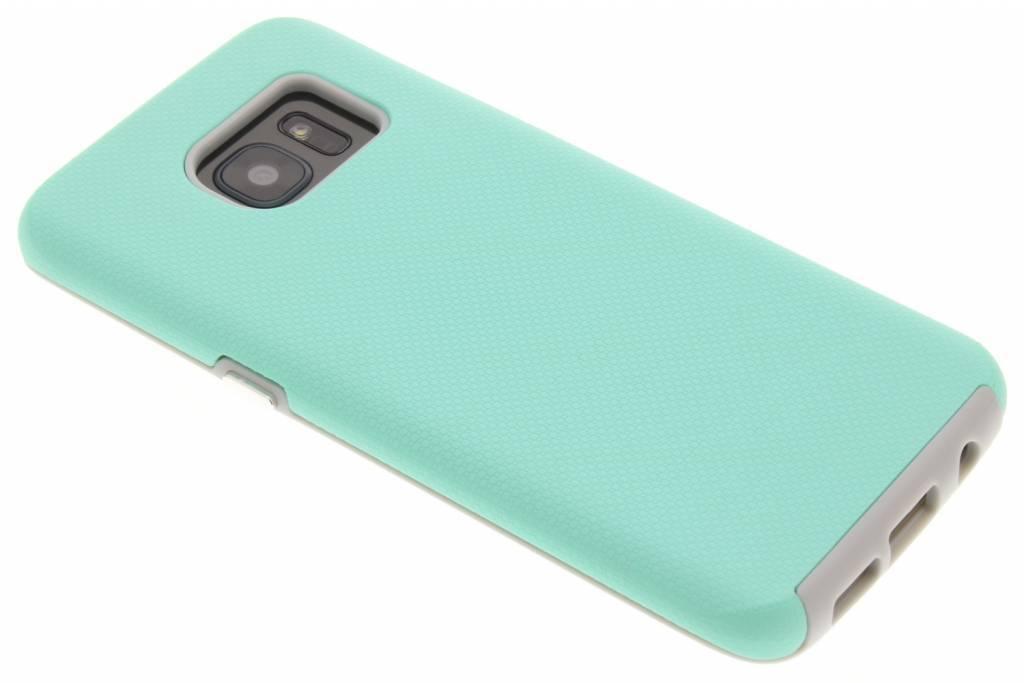 Accezz Xtreme Hardcase Backcover voor Samsung Galaxy S7 Edge - Mintgroen