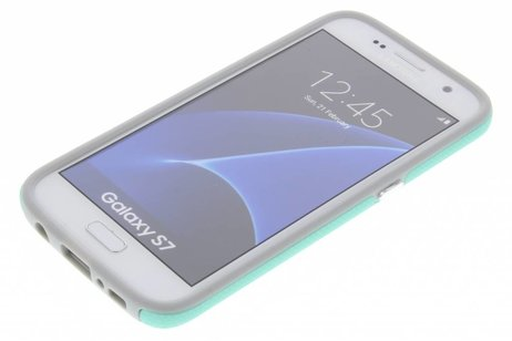 Accezz Xtreme Hardcase Backcover voor Samsung Galaxy S7 - Mintgroen