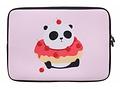 Universele Panda Cherry Donut design sleeve 10 inch