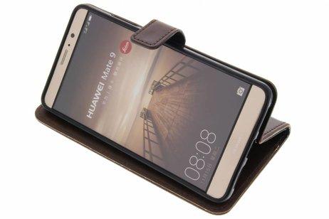 Huawei Mate 9 hoesje - Luxe Lederen Booktype voor