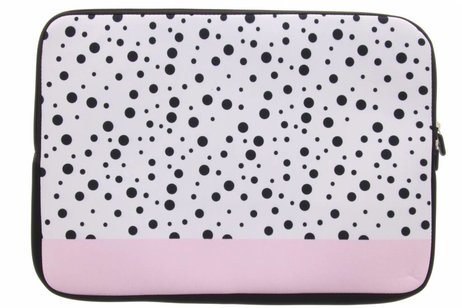Universele dots design sleeve 10 inch