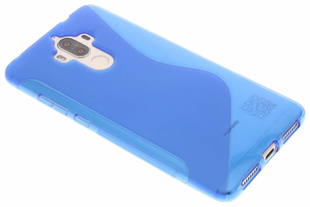S-line Backcover voor Huawei Mate 9 - Blauw