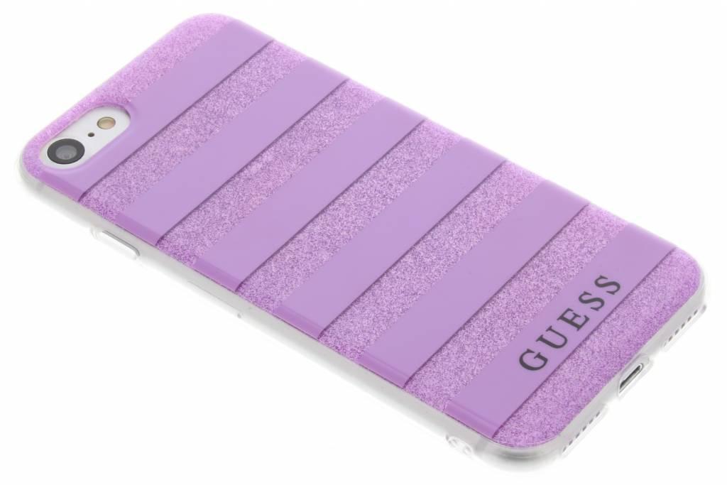 Stripes Gel Case iPhone 8 / 7 - Paars