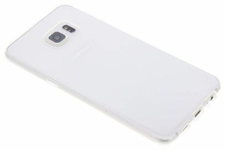 Samsung Galaxy S6 Edge Plus hoesje - Softcase Backcover voor Samsung