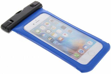 Blauwe universele waterproof case maat M