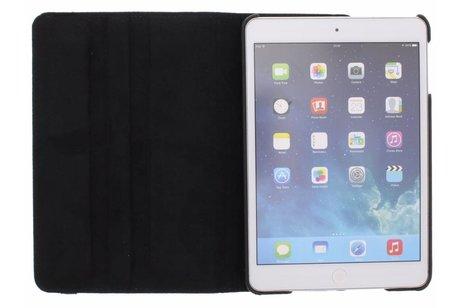 360° Draaibare Bookcase voor iPad Mini / 2 / 3 - Zwart