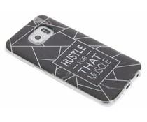 QuoteHustle TPU hoesje Samsung Galaxy S6 Edge
