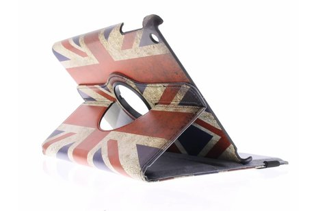 360° Draaibare Design Bookcase voor iPad Air - Britse Vlag