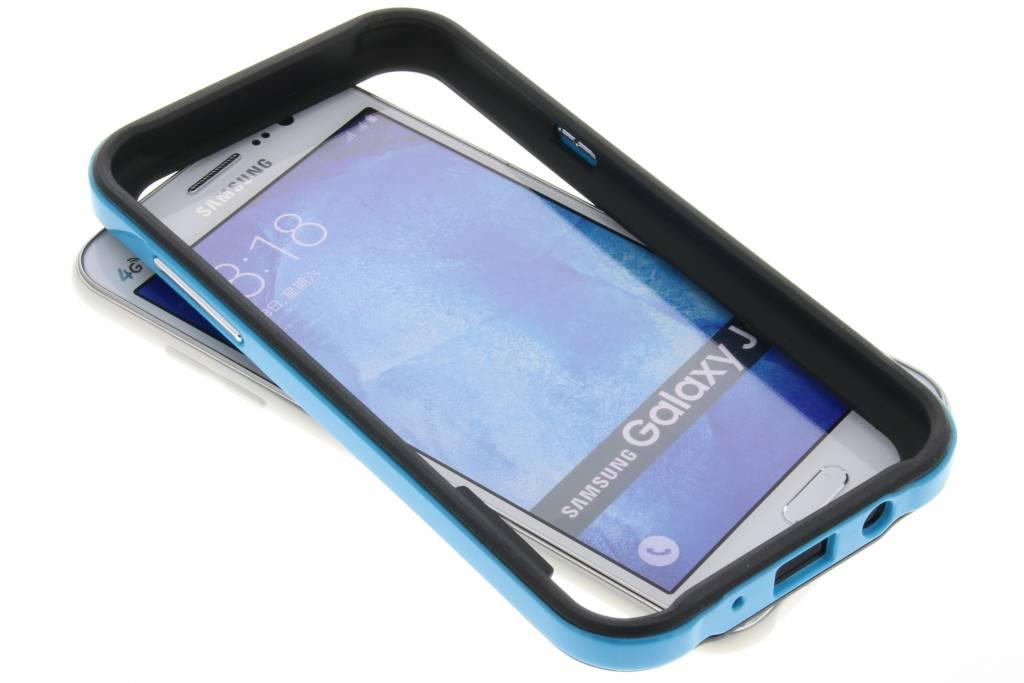 Bumper voor Samsung Galaxy J5 - Blauw