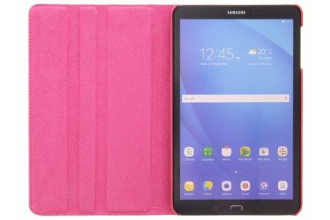 360° Draaibare krokodil Bookcase voor Samsung Galaxy Tab A 10.1 (2016) - Rood