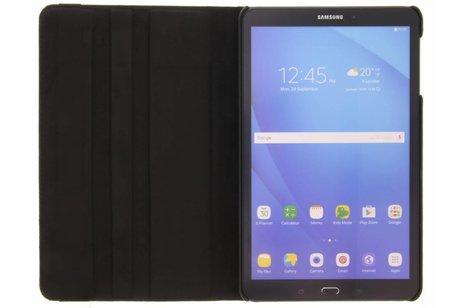 360° Draaibare Bookcase voor Samsung Galaxy Tab A 10.1 (2016) - Zwart