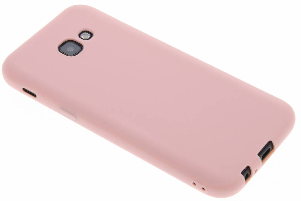 Color Backcover voor Samsung Galaxy A5 (2017) - Lichtroze