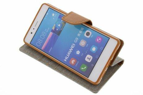 Huawei P9 Lite hoesje - Mercury Goospery Canvas Diary