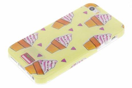 Blond Amsterdam Design Backcover voor iPhone SE / 5 / 5s - Ijsje