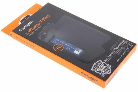 Spigen Slim Armor CS Backcover voor iPhone 8 Plus / 7 Plus - Zwart