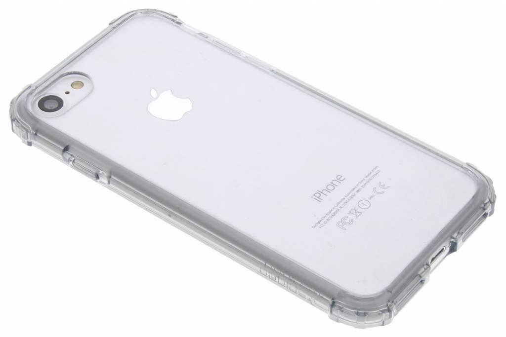 Spigen Crystal Shell Backcover voor iPhone 8 / 7 - Grijs