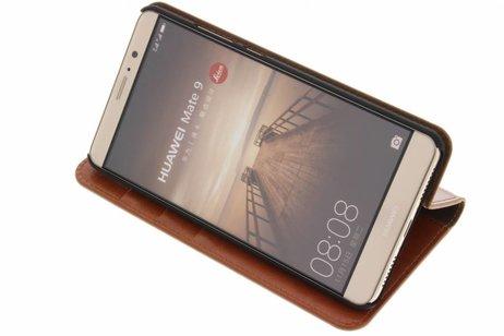 Huawei Mate 9 hoesje - Zakelijke Hardcase Booktype voor