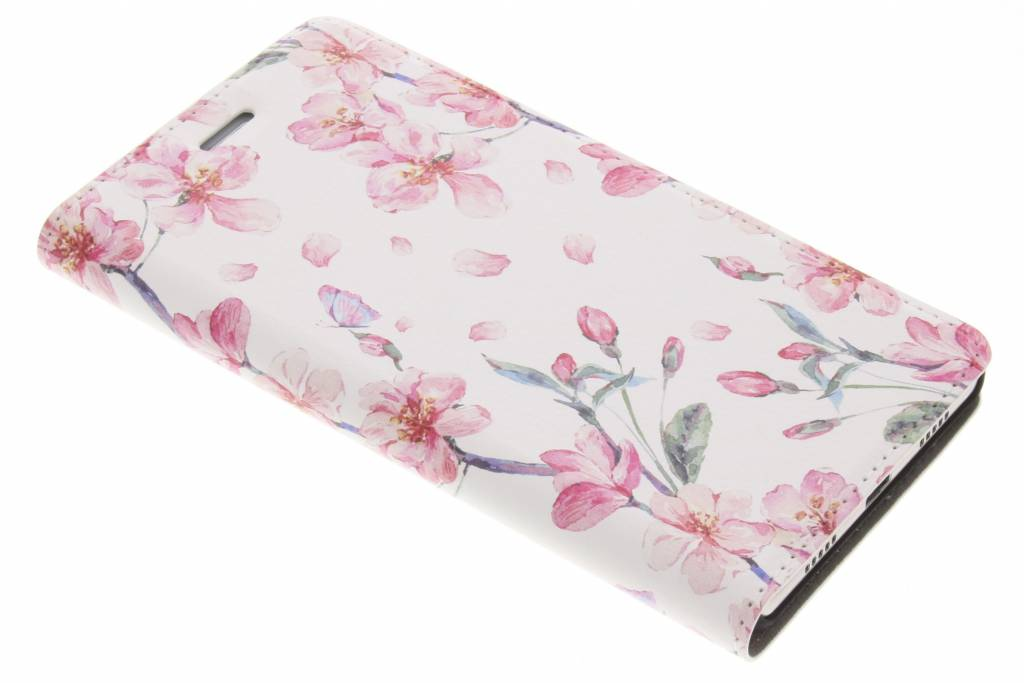 Design Hardcase Booktype voor Huawei P8 Lite - Bloesem Watercolor