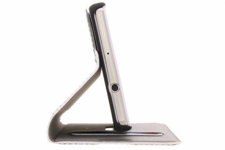 Huawei P8 Lite hoesje - Design Hardcase Booktype voor