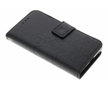 Klavertje Bloemen Booktype Sony Xperia X Compact