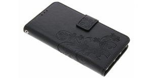 Klavertje Bloemen Booktype Huawei Y5 2 / Y6 2 Compact