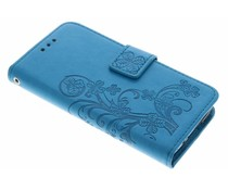 Klavertje Bloemen Booktype Samsung Galaxy S5 Mini