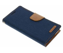 Mercury Goospery Canvas Diary Booktype Samsung Galaxy S5 (Plus) / Neo