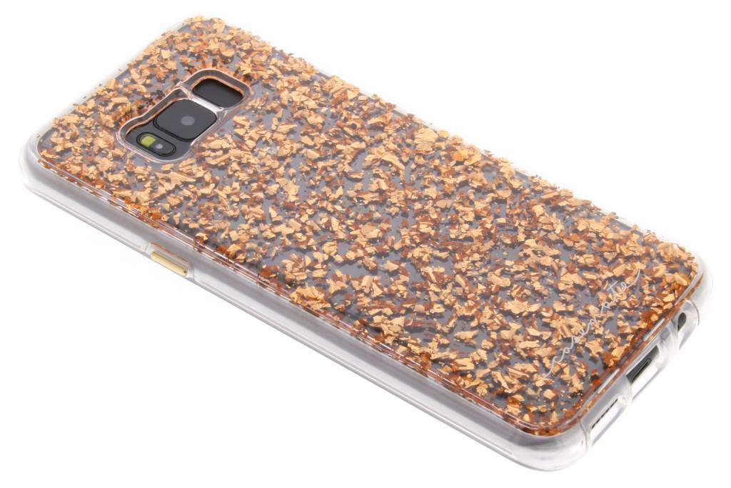 Case-Mate Karat Backcover voor Samsung Galaxy S8 Plus - Rosé goud