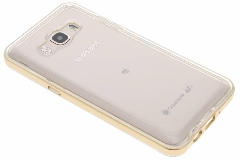 Bumper Backcover voor Samsung Galaxy J5 (2016) - Goud