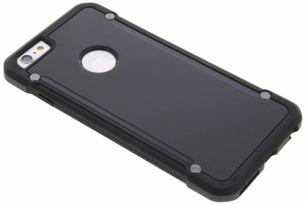 Zwarte defender hardcase voor de iPhone 6(s) Plus