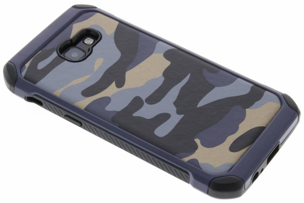 Army Defender Backcover voor Samsung Galaxy A5 (2017) - Blauw