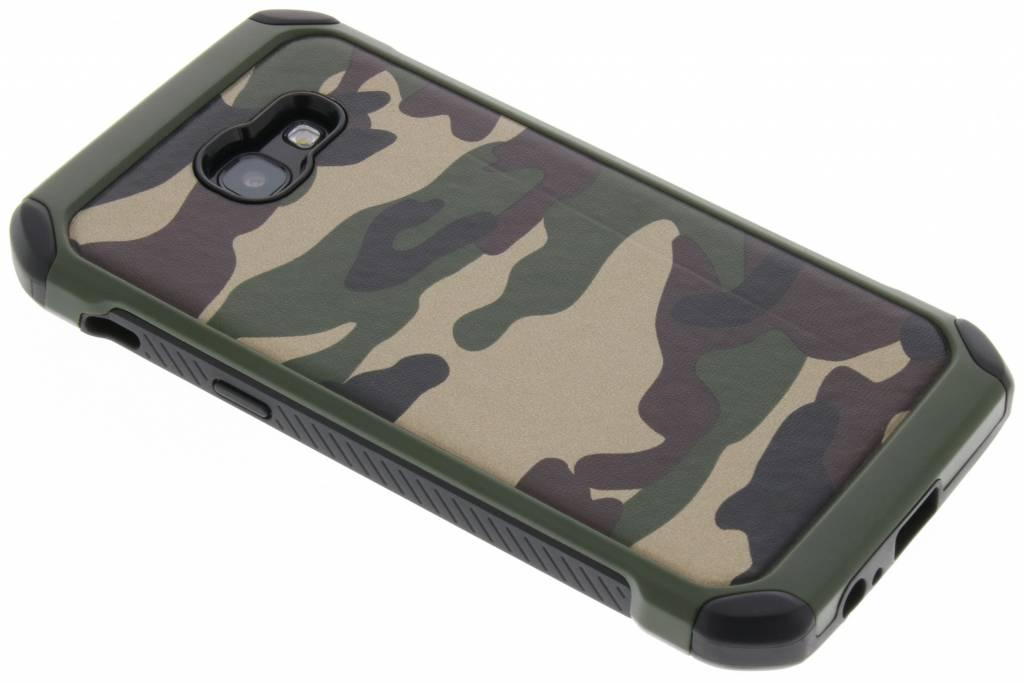 Army Defender Backcover voor Samsung Galaxy A5 (2017) - Groen